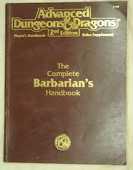 Complete Barbarian's Handbooks
